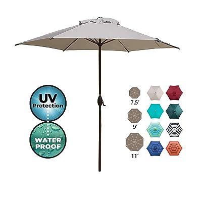 Abba Patio 9ft Patio Umbrella Outdoor Umbrella Patio Market Table Umbrella