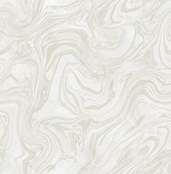 Mayflower wallpaper petra frost white silver marble malachite modern luxury boho