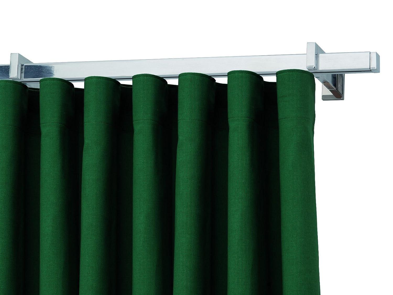 Bastone binario per tenda quadrato in alluminio lucido o satinato