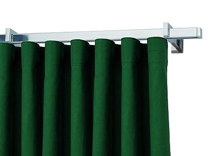 Bastoni Tende A Soffitto : Bastone binario per tenda quadrato in alluminio lucido o satinato