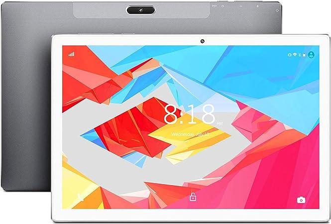 LNMBBS X30 Tablet 10.1 Pulgadas, 6GB de RAM y 128GB Memoria Tableta 10 Núcleos Procesador Android 9.0 Tablet 8000mAh Batería y 2560*1600 FHD IPS, ...