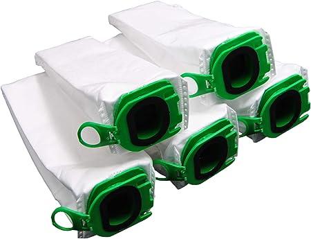 Bolsas para aspiradoras Vorwerk Kobold VB100 VB 100 FP100 FP 100. B: 10 bolsas para aspiradoras.: Amazon.es: Hogar