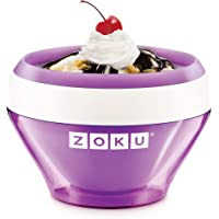 Zoku ZK120-PU Ice Cream Maker-Púrpura, plástico, Purple