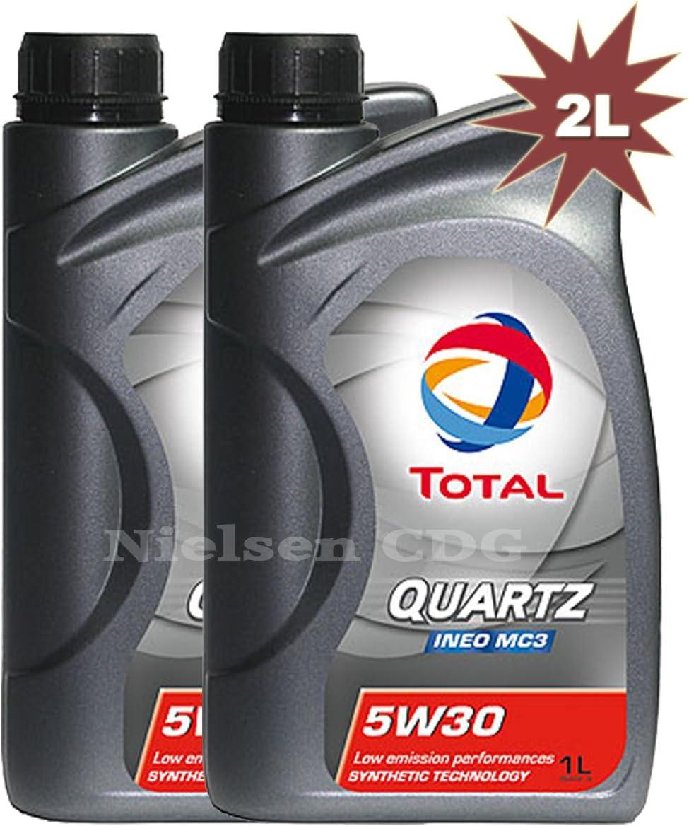 Total Quartz Ineo Mc3 1w30 Motoröl 2 X 5 Liter 2 Liter Auto