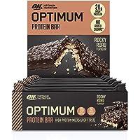 Optimum Nutrition ON Protein Bar Barritas Proteínas con Whey Protein Isolate, Dulces Altas en Proteína y Low Carb, Rocky…