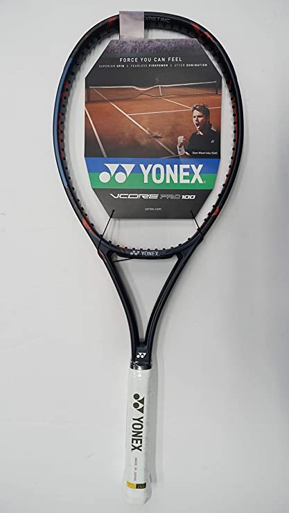 Yonex Vcore Pro 100 280g Tennis Racquet, Free Synthetic Gut String (#2 [