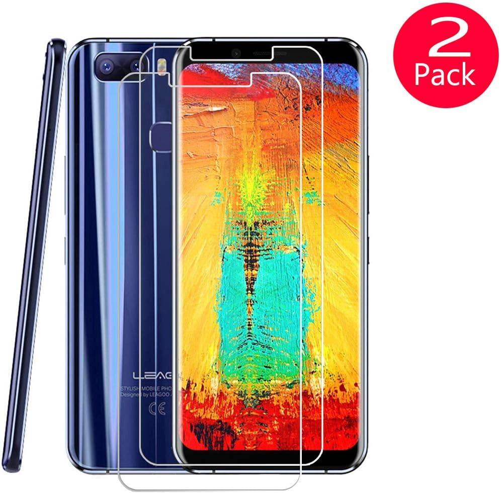 QFSM 2 Pack Película Protectora para Leagoo S8 Pro, Resistente al ...