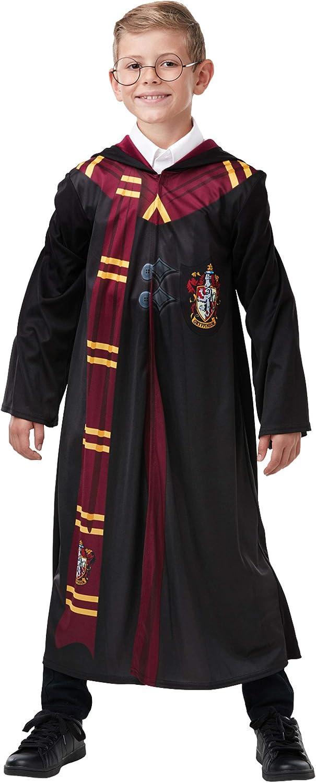 HARRY POTTER Costumi per Ragazzi Gryffindor Nero 7-8 Anni