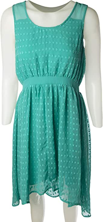 Naf Naf Casual Dresse for Women, Turquoise