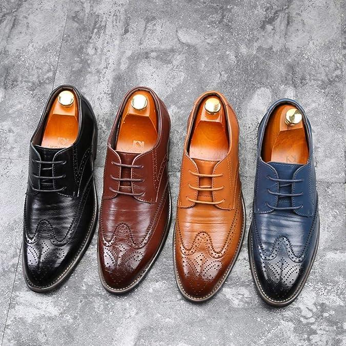 Soldes Homme Chaussures Richelieu Fauve Large en Cuir,Overdose Mode  Mocassins à Lacets Elégance Mariage Workwear Shoes  Amazon.fr  Chaussures  et Sacs 231f86a02f31