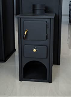 Estufa para madera, chimenea de combustible sólido Log quemador quemador de madera 5 kW prometey
