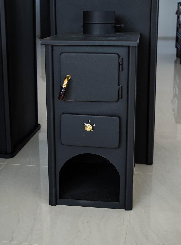 Woodburning Stove Fireplace Solid Fuel Log Burner Wood Burner 5kW Prometey MiniB