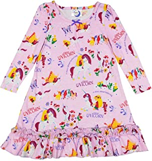 product image for Books to Bed Girls Nightgown Pajama - UNI The Unicorn Nightgown