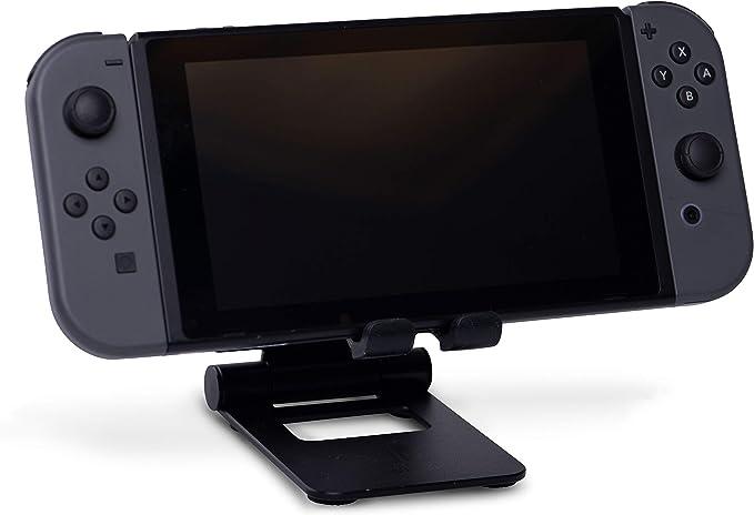 Soporte Compacto De Metal, Color Negro (Nintendo Switch): Amazon ...