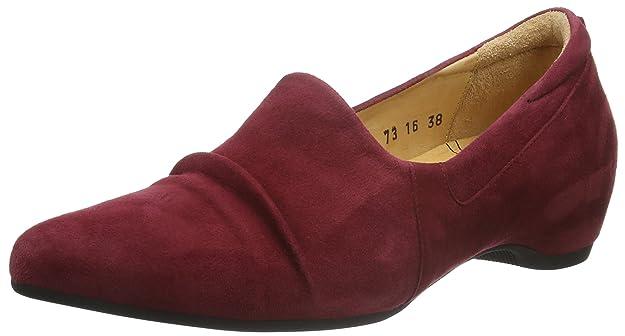 Damen Imma Geschlossene Ballerinas, Rot (Cranberry 73), 38 EU Think