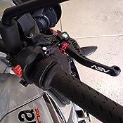 ASV Inventions CRC550-SK C5 Sport Black Shorty Clutch Lever for Aprilia//Ducati//KTM