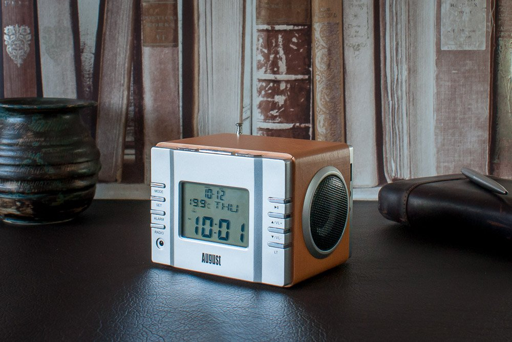 Alarm Clock Radio with MP3 USB ,SD, 3.5mm (Aux) and FM ...