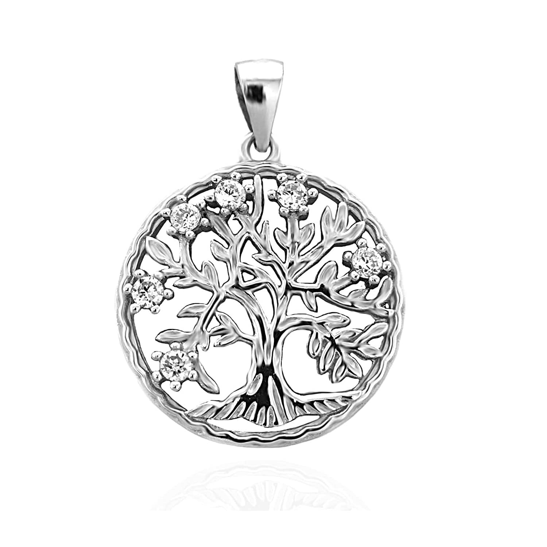 Sofia Milani Damen-Anhänger Lebensbaum 925 Silber 60292