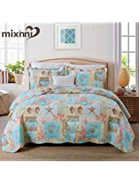 king size quilts and comforters sets 1 quilt and 2 pillow sham beach