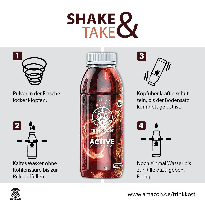 Trinkkost Active Der Eiweiss Protein Shake Zum Abnehmen Und Muskeln