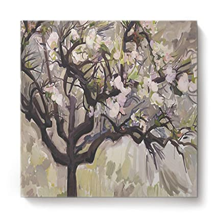 Amazon Com Prironde Wall Art Oil Painting Colored Drawing Magnolia