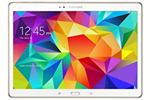 Samsung Galaxy Tab S 10.5in 16gb SSD Wifi Dazzling White (Renewed)
