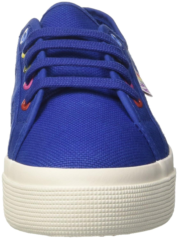 2730-Cotw Colors Hearts, Zapatillas para Mujer, Azul (Intense Blue G88), 39 EU Superga