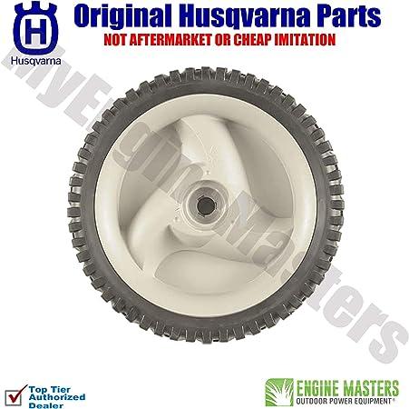 Amazon.com: Conjunto de 2 ruedas de disco Husqvarna ...