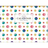 """2020 Family Calendar - Wall Calendar 2020 for Family, 15"""" x 23""""(Open), Weekly Monthly Calendar, Jan - Dec 2020, Inner Pocket with Pen Loop Sticker, Best Choice for Busy Family"""