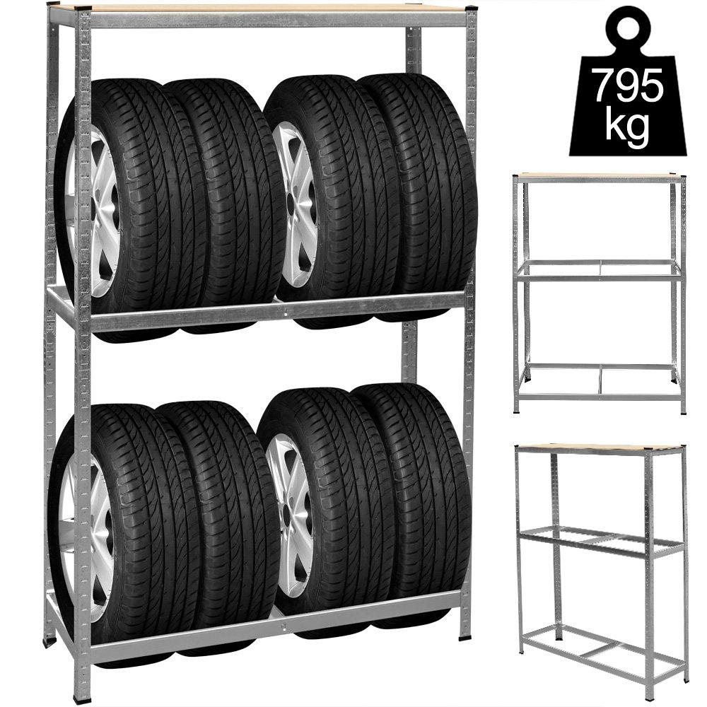 Felgenbaum bis 225er Reifen | bis max. 225 | Modellauswahl (225mm und 295mm) mit und ohne Schutzhü lle | Reifenstä nder Reifenhalter Felgenhalter Autoreifen Deuba