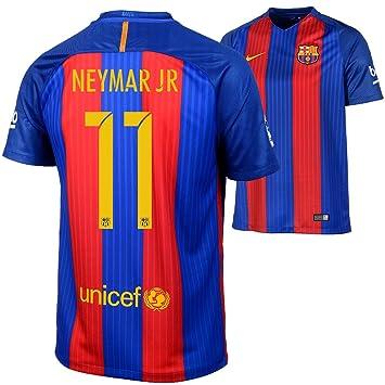 a9f90fbcedb18 Nike 2ª Equipación FC Barcelona 2016 2017 - Camiseta Oficial  Amazon.es   Deportes y aire libre