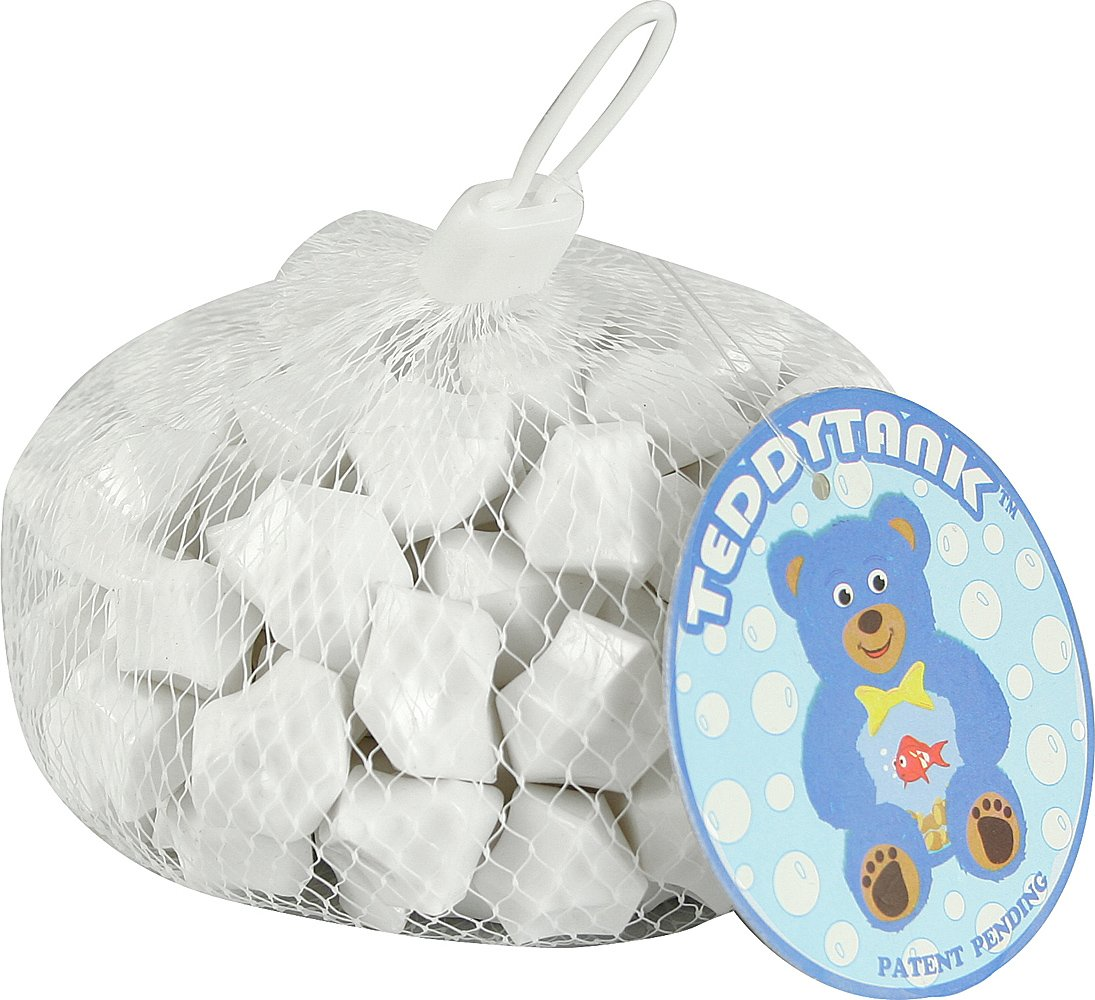 Teddy Tank Toy Accessories with White Acrylic Diamond Shaped Stones, 8.8-Ounce