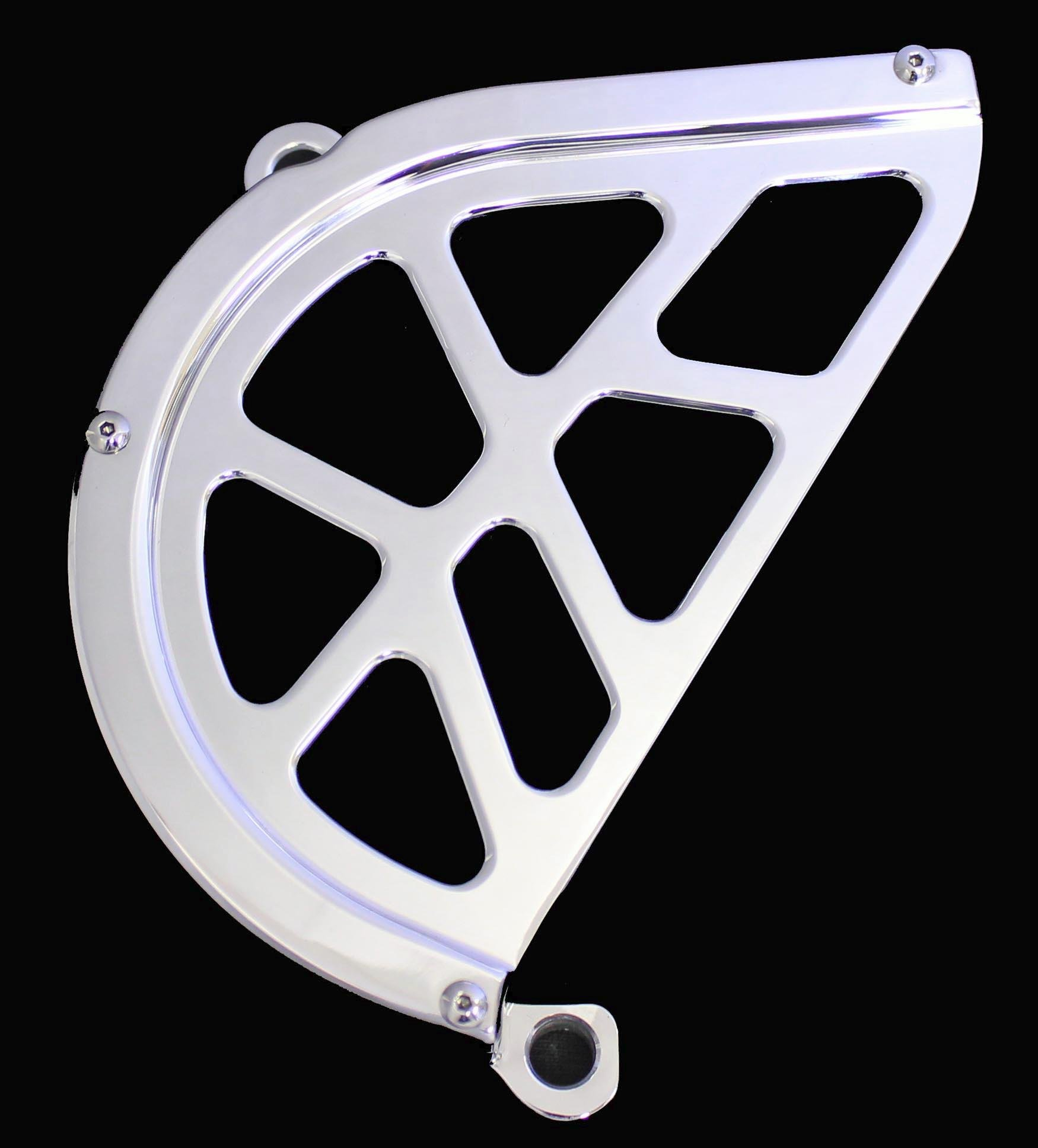ModQuad Billet Polished Front Chain Guard for Yamaha 07-13 YFM700 Raptor (CG1-700-1) by Modquad