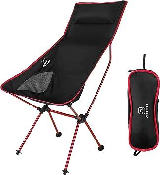 OUTAD Silla Plegable de Fácil Transporte para Camping/Playa/Pesca ...