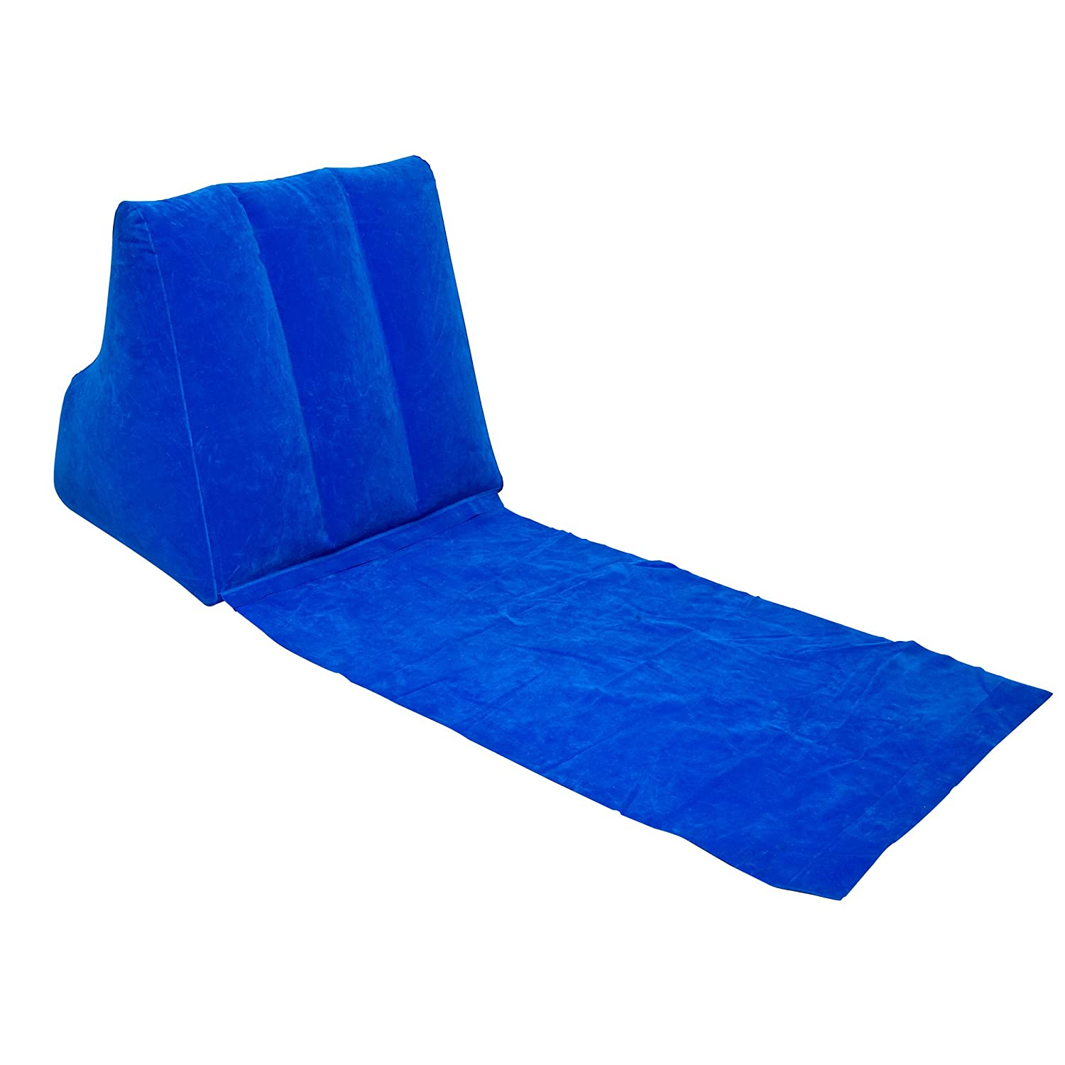Amazon WickedWedge Inflatable Lounger Blue Home Kitchen