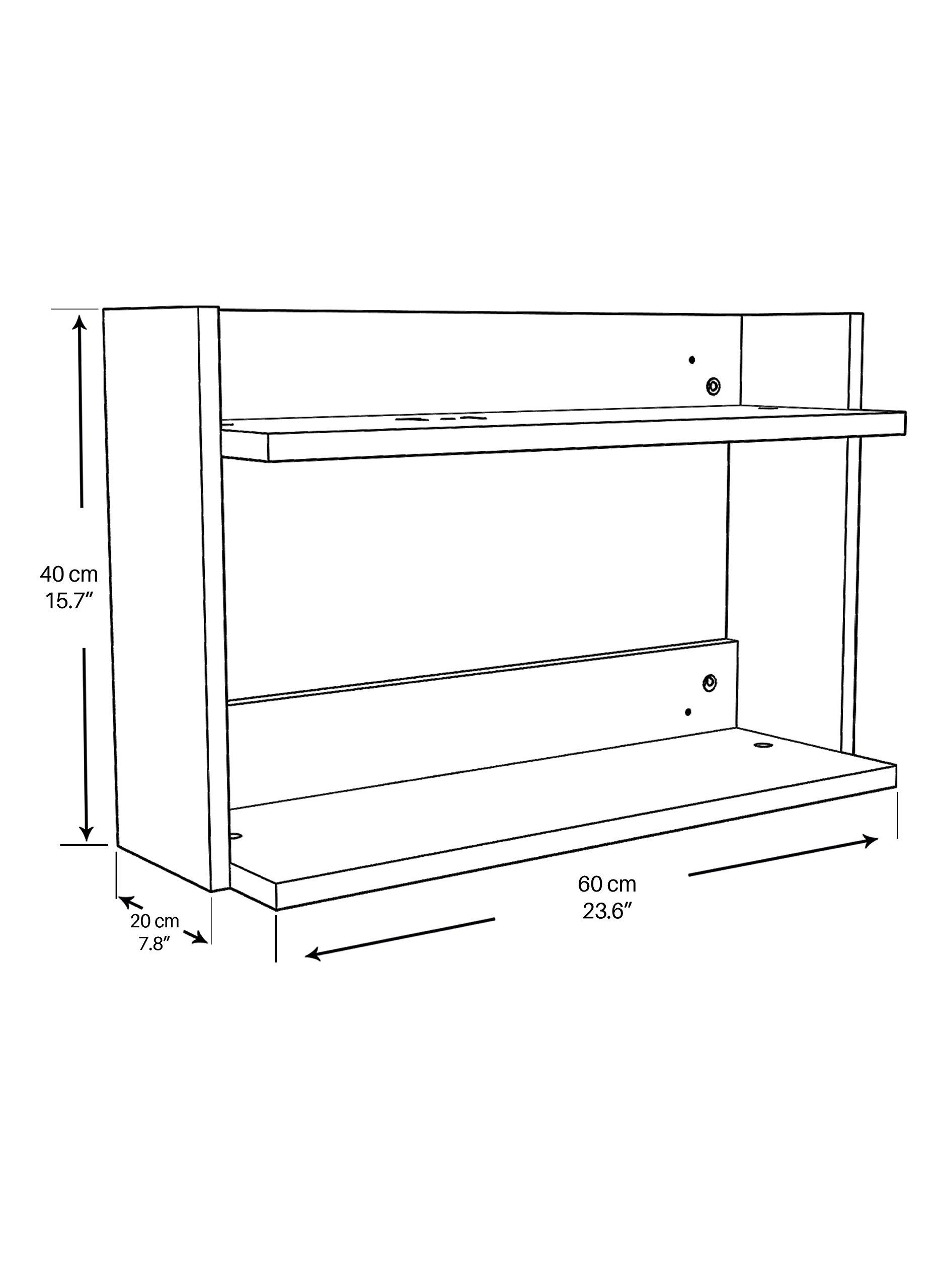 Aerial Shelf R-A6 - Floating Shelves/Floating Shelf by RTA Disegno (Image #2)