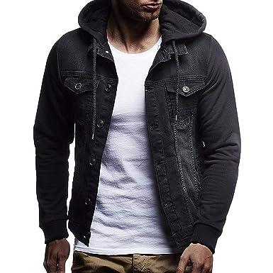 baixa Men Jacket Coat Chaqueta Vaquera para Hombre, 3XL, Informal ...