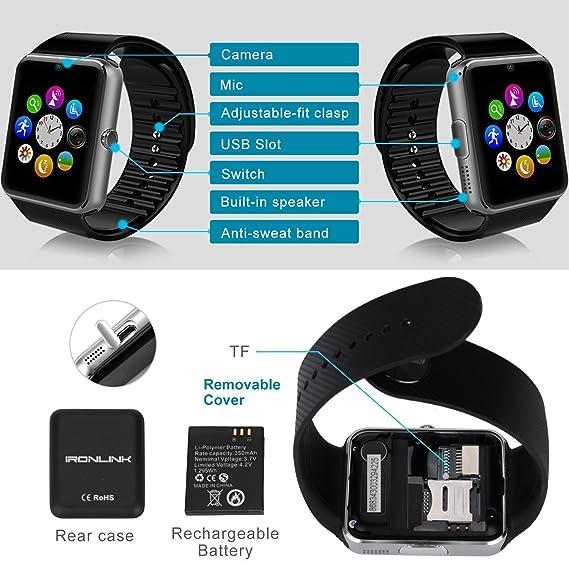 MallTEK Smartwatch Bluetooth Smart Watch