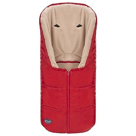 Urra Benny 5 puntos - Saco de dormir para carrito de bebé rojo rojo/beige