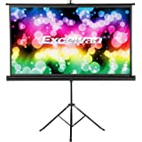 Amazon Price History for:Excelvan HD Portable Movie Screen with Foldable Stand Tripod, Diagonal 16:9 Indoor Outdoor Projector Screen Adjustable Wrinkle-Free Projection Screen for Home Cinema Presentation (100 inch)