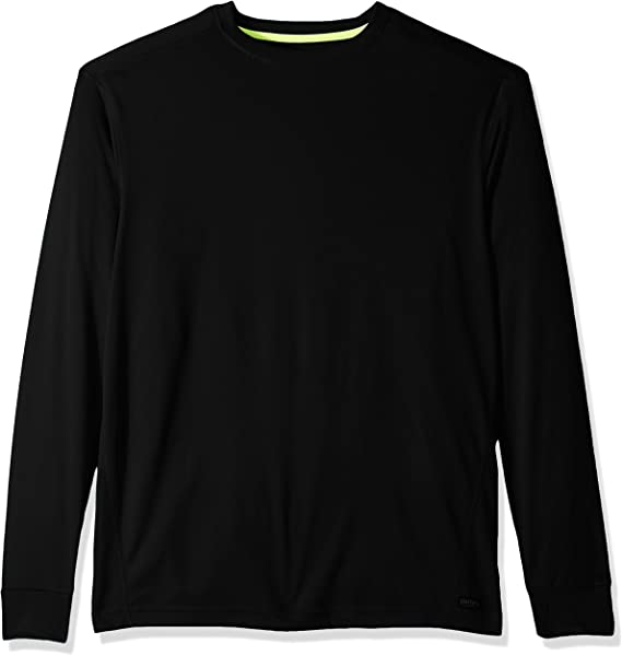 Smiths Workwear Mens Contrast Stitch Long-Sleeve Performance Crew