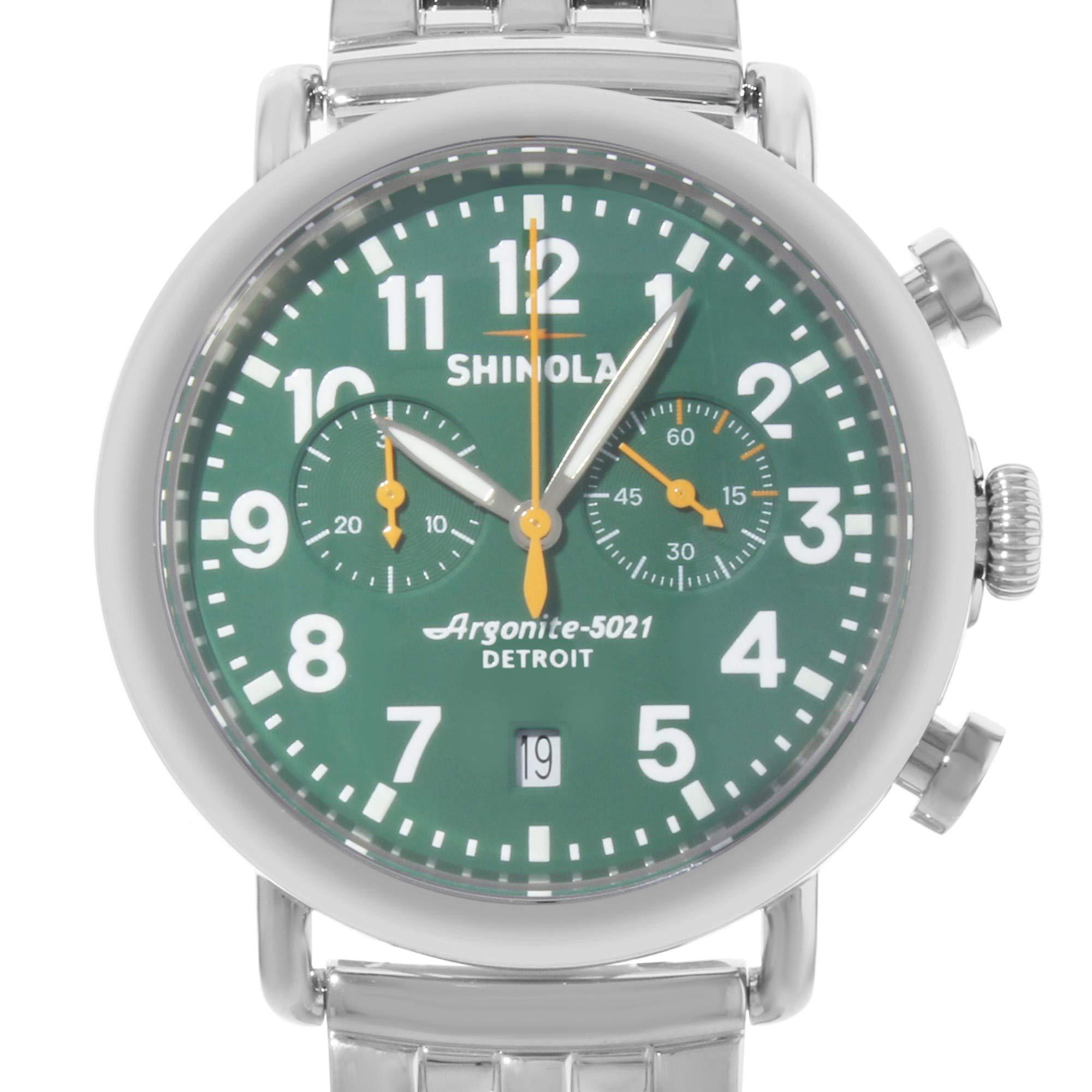 Shinola The Runwell Quartz Male Watch 10000063 (Certified Pre-Owned) by Shinola (Image #3)