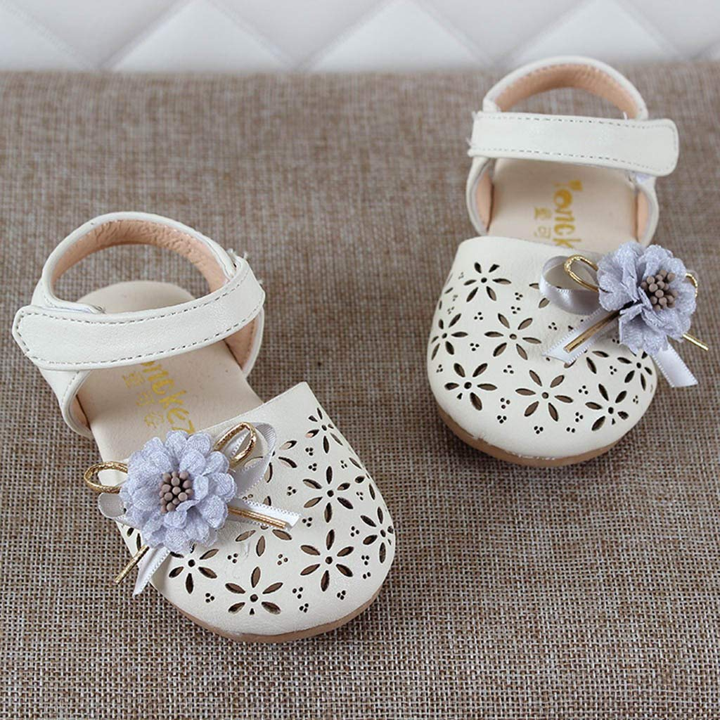 Voberry Infant Baby Girls Princess Sandals Cute Moccasins Casual Flats Toddler Shoes