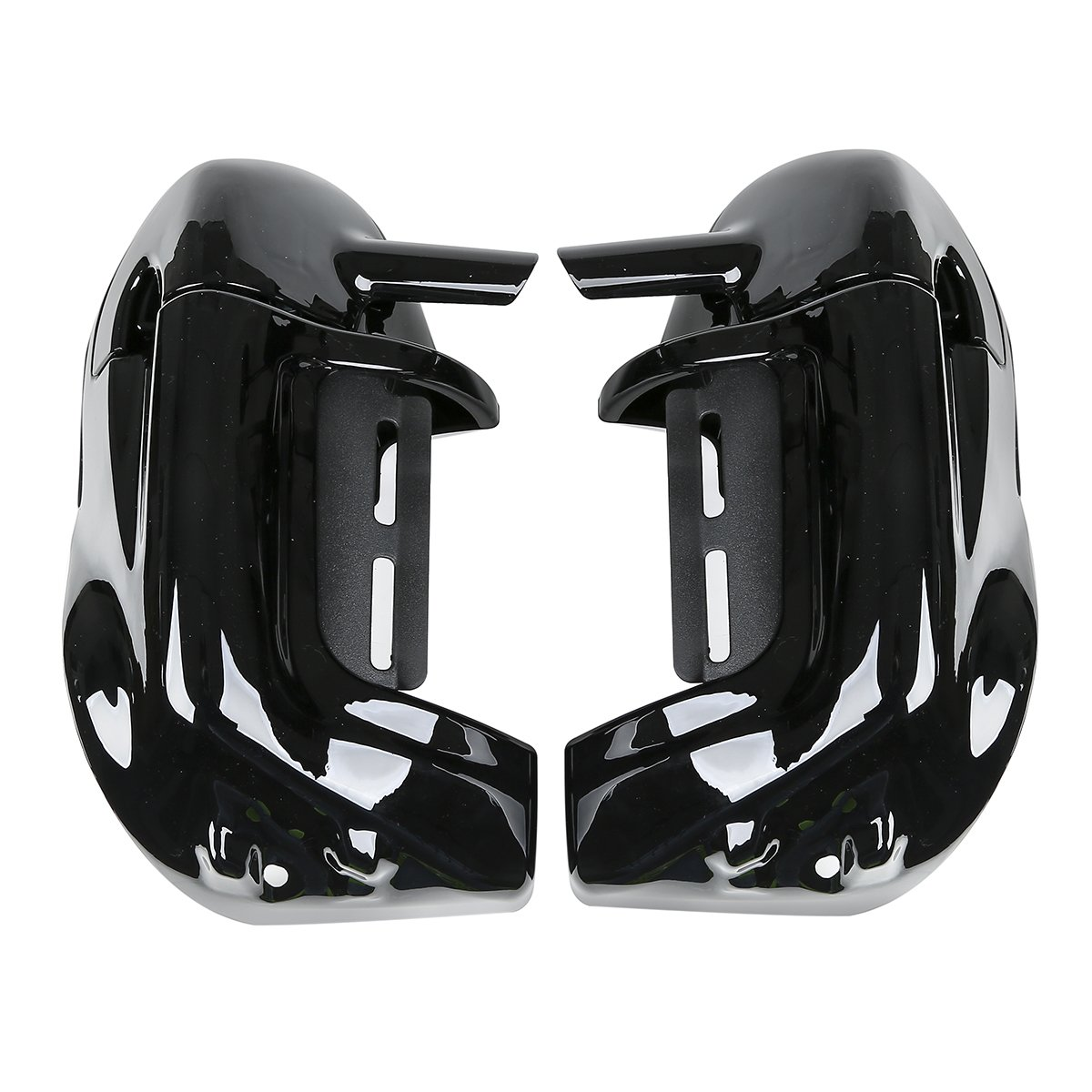 XMT-MOTO Lower Vented Leg Fairing + 6.5'' Speakers w/ Grills For Harley Touring 1983-2013