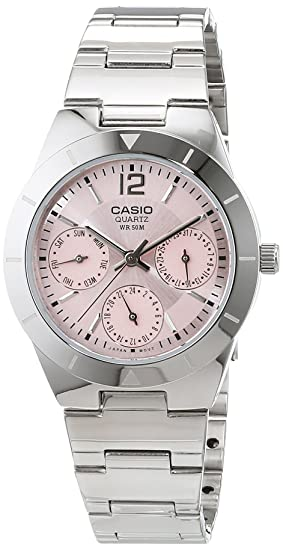 Amazon.com: Casio General Ladies Watches Metal Fashion LTP-2069D-4AVDF - WW: Watches