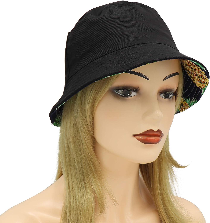 Umeepar Unisex Reversible Packable Bucket Hat Sun hat for Men Women