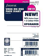 Filofax 19-68226 Pocket Week Per Page 2019 Diary