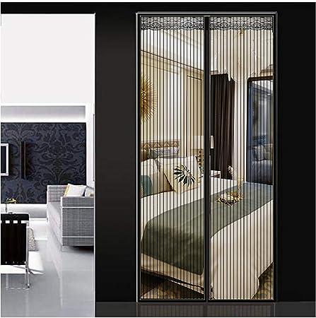 Q&F Cortina magnetica Puerta Mosquitera Puerta Exterior Mosquitera para Puerta Cortina magnética para Patio,Dormitorio Protección contra insectos-100x210cm(39x83inch): Amazon.es: Hogar
