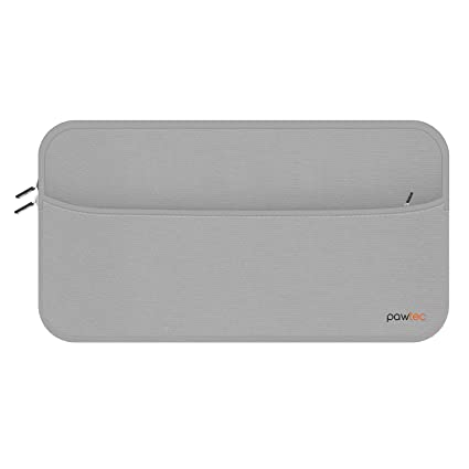 4c16edb07a7 Amazon.com: Pawtec Sleeve for Apple Magic Keyboard, Magic Mouse 2, Magic  Trackpad 2 with Storage Pocket for Batteries Cables Chargers Neoprene Case  ...