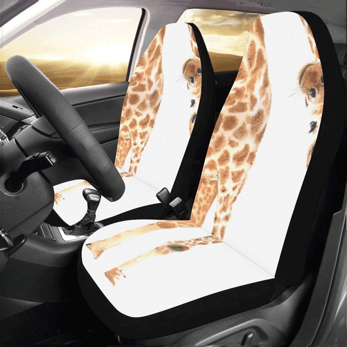 Amazon.com: Juego completo de 2 fundas de asiento de coche ...